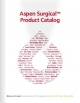 Aspen Surgical Product Catalog