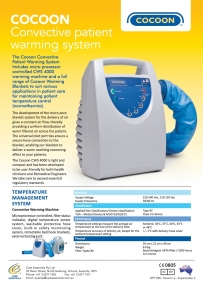Cocoon Convective Patient Warming System