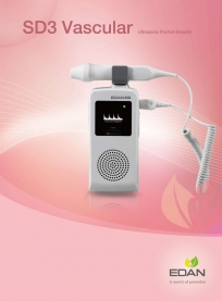 SD3-VASC Ultrasonic Pocket Doppler