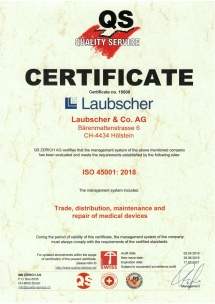 ISO Certificate 45001